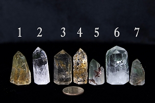 Inclusion Quartz (Lodolite) Points