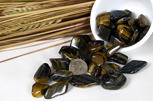 Tumbled Tiger Eye - 2 oz